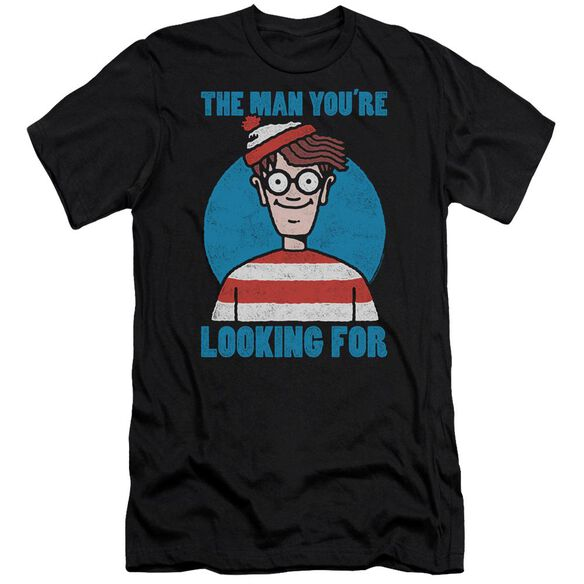 Wheres Waldo Looking For Me Hbo Short Sleeve Adult T-Shirt