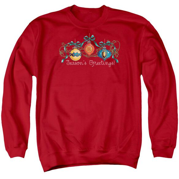 Ornaments Adult Crewneck Sweatshirt