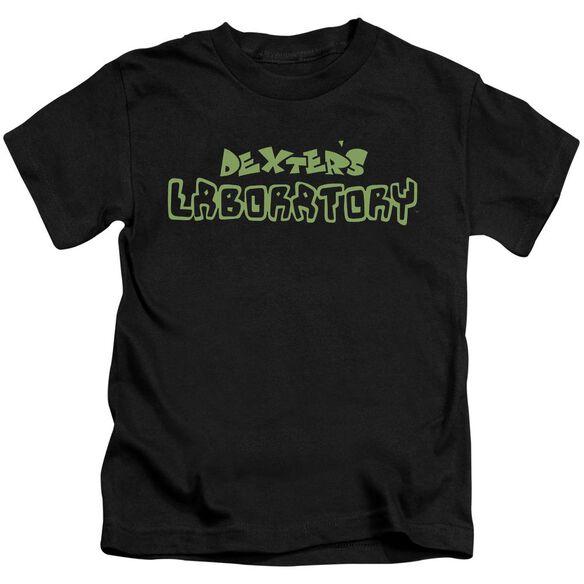 Dexter's Laboratory Dexter's Logo Short Sleeve Juvenile T-Shirt