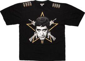 Scarface Gold Star T-Shirt