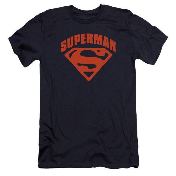 Superman Super Shield Premuim Canvas Adult Slim Fit