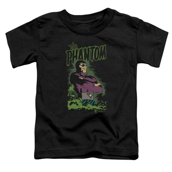 Phantom Jungle Protector Short Sleeve Toddler Tee Black T-Shirt