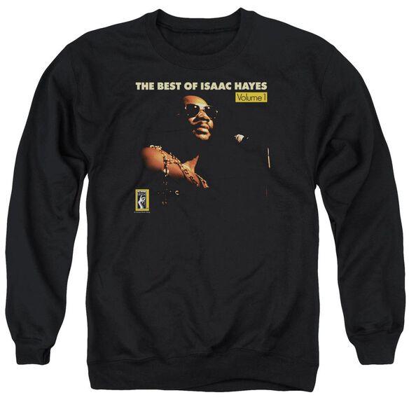 Isaac Hayes Chain Vest Adult Crewneck Sweatshirt