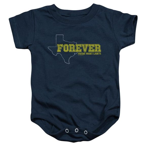 Friday Night Lights Texas Forever Infant Snapsuit Navy