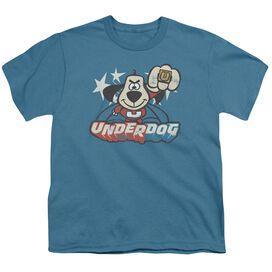 Underdog Flying Logo Short Sleeve Youth T-Shirt