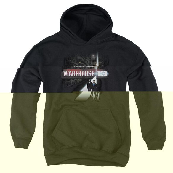 Warehouse 13 The Unknown-youth Pull-over Hoodie - Black