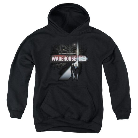 Warehouse 13 The Unknown Youth Pull Over Hoodie