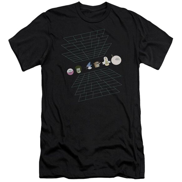The Regular Show Regular Grid Short Sleeve Adult T-Shirt