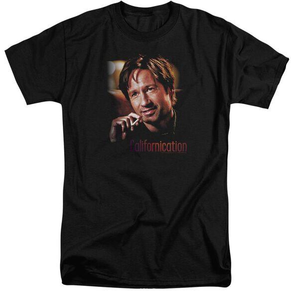 Californication Smoker Short Sleeve Adult Tall T-Shirt