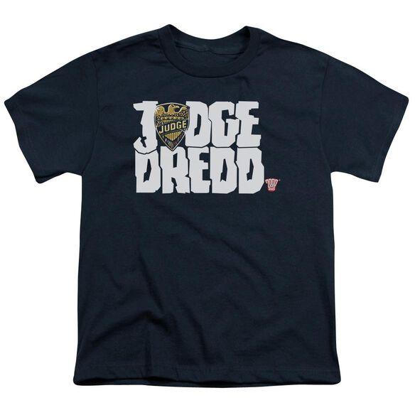 Judge Dredd Logo Short Sleeve Youth T-Shirt