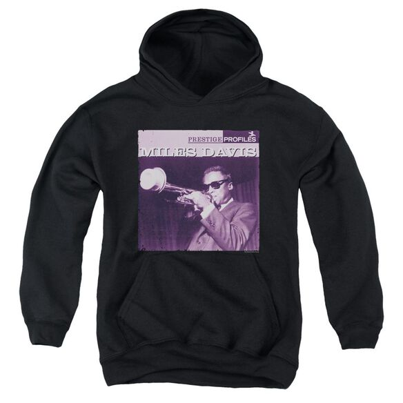 Miles Davis Prince Youth Pull Over Hoodie
