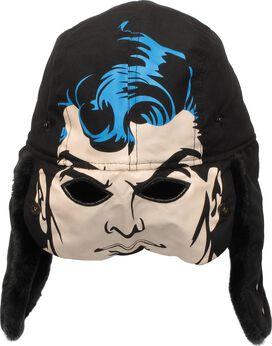Superman Flip Down Mask Trapper Hat