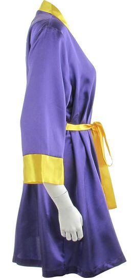 Batgirl Bombshell Satin Junior Robe