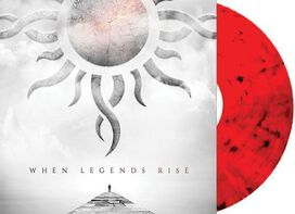 Godsmack - When Legends Rise [Exclusive Red and Black Swirl Vinyl]