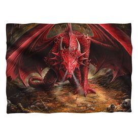 Anne Stokes Dragons Lair Pillow Case White