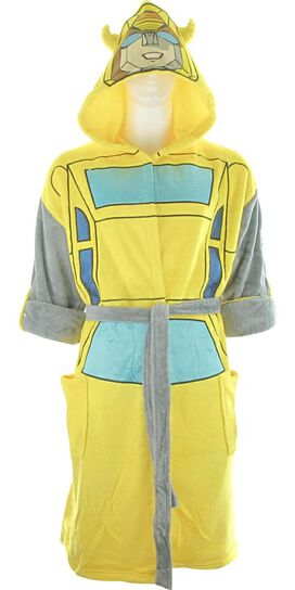 Transformers Autobot Bumblebee Masked Hooded Robe 9aec2c3ac
