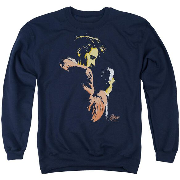 Elvis Early Elvis Adult Crewneck Sweatshirt