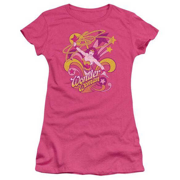 Dc Save Me Short Sleeve Junior Sheer Hot T-Shirt