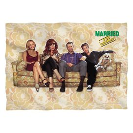 Married With Children Couch Trip (Front Back Print) Pillow Case