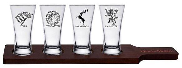 Game of Thrones Flight Glasses [4 Pack]
