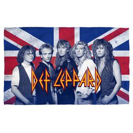 Def Leppard The Boys Towel White