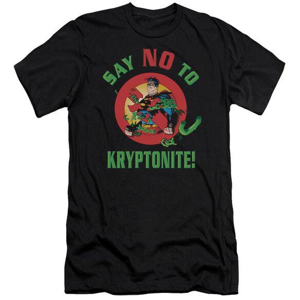 Superman Say No To Kryptonite Premuim Canvas Adult Slim Fit
