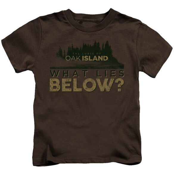 The Curse Of Oak Island What Lies Below Short Sleeve Juvenile T-Shirt