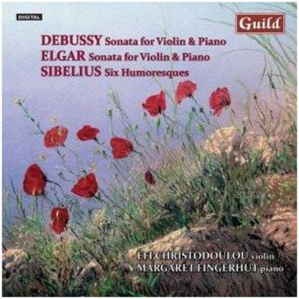 Violin Music By Debussy Elgar Sibelius