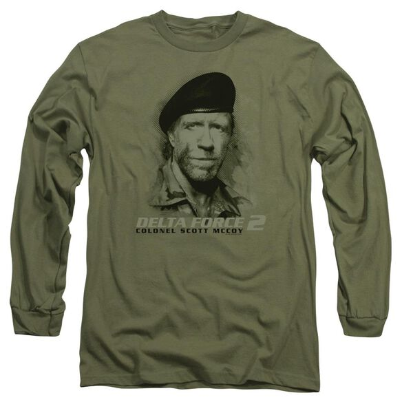 Delta Force 2 You Cant See Me Long Sleeve Adult Military T-Shirt
