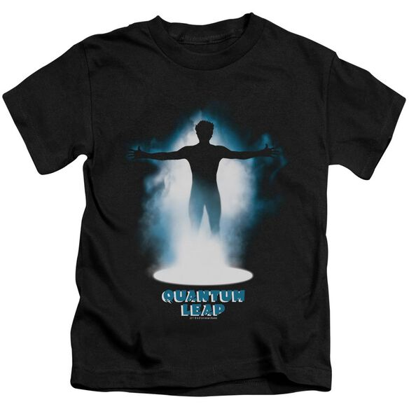 Quantum Leap First Jump Short Sleeve Juvenile Black T-Shirt