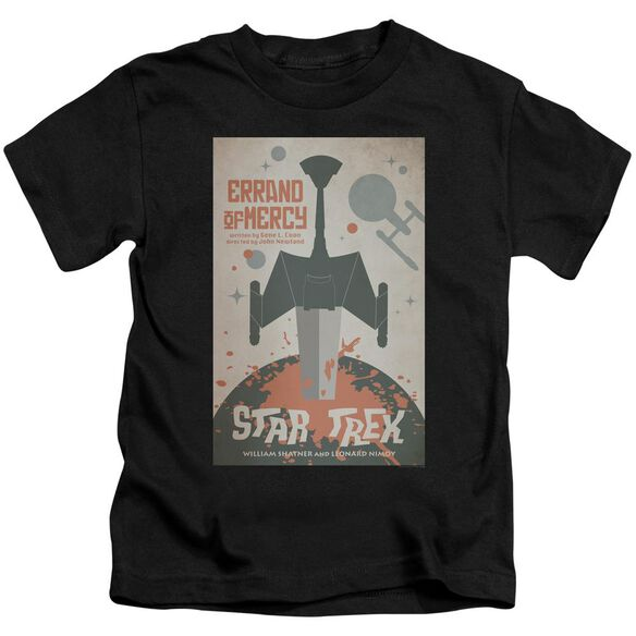 Star Trek Tos Episode 26 Short Sleeve Juvenile Black T-Shirt