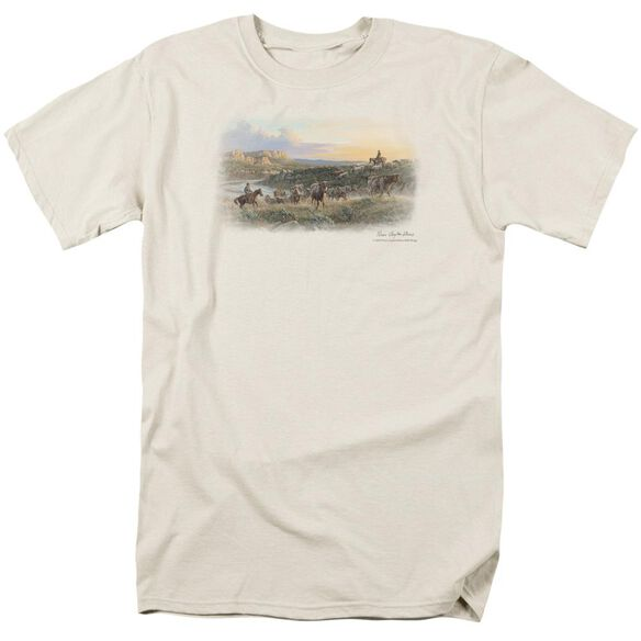 Wildlife The Last Crossing Short Sleeve Adult Cream T-Shirt