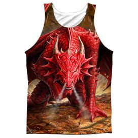 Anne Stokes Dragons Lair Adult 100% Poly Tank Top
