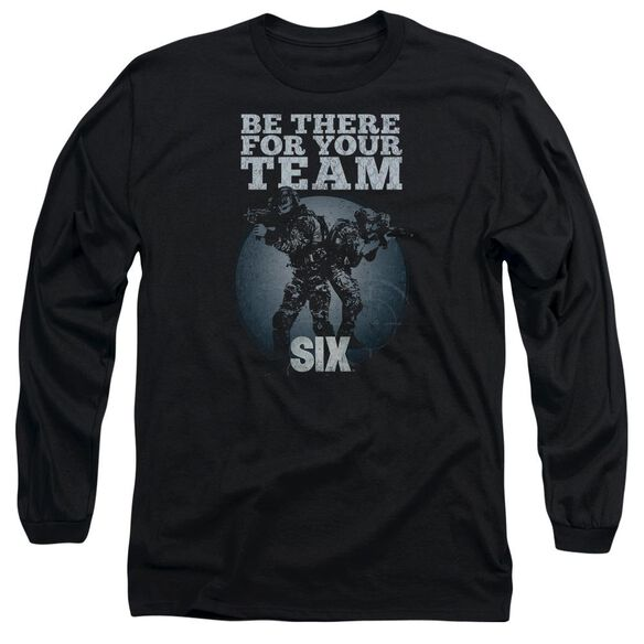 Six Team Long Sleeve Adult T-Shirt