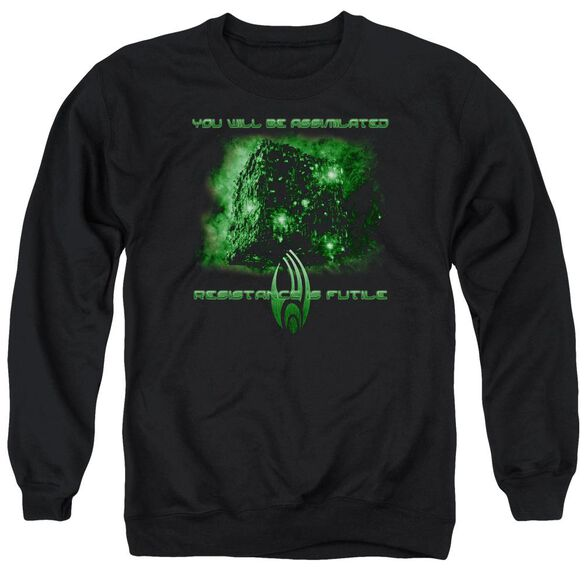 Star Trek Assimilate Adult Crewneck Sweatshirt
