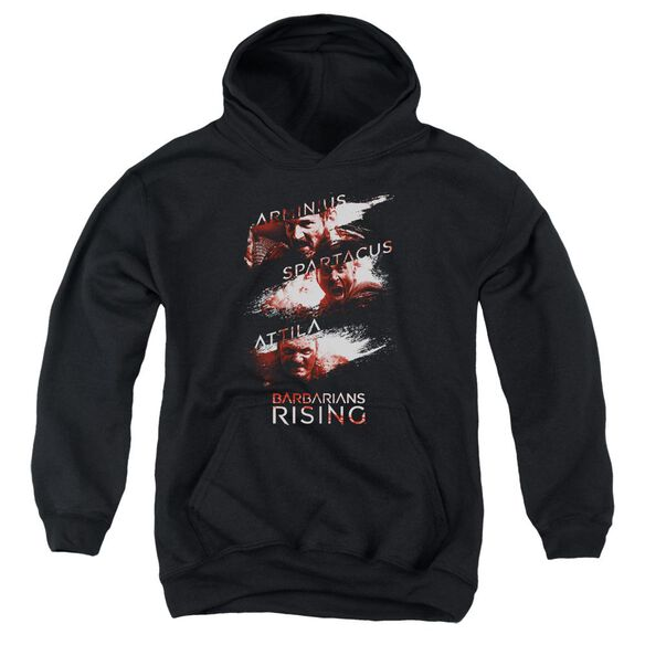 Barbarians Rising Barbarian Splash Youth Pull Over Hoodie