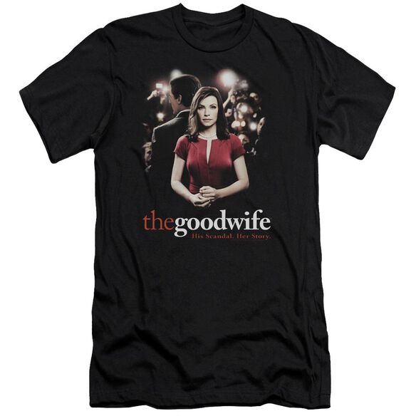 The Good Wife Bad Press Short Sleeve Adult T-Shirt