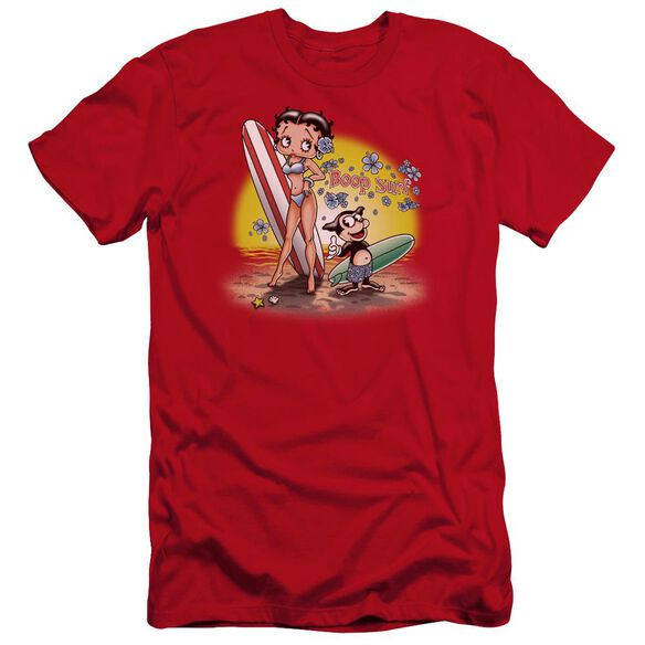 Betty Boop Surf Premuim Canvas Adult Slim Fit
