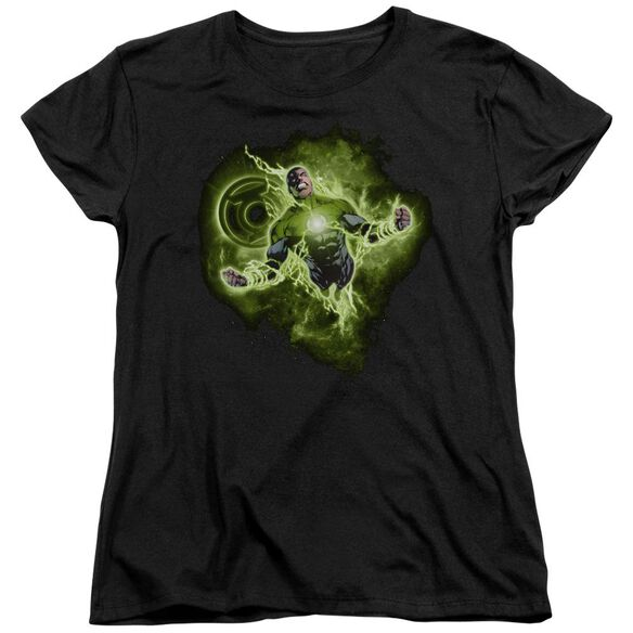 Green Lantern Lantern Nebula Short Sleeve Womens Tee T-Shirt