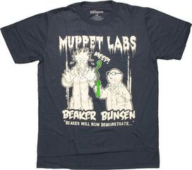 Muppets Labs Duo T-Shirt Sheer