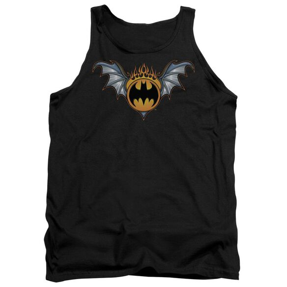 Batman Bat Wings Logo Adult Tank