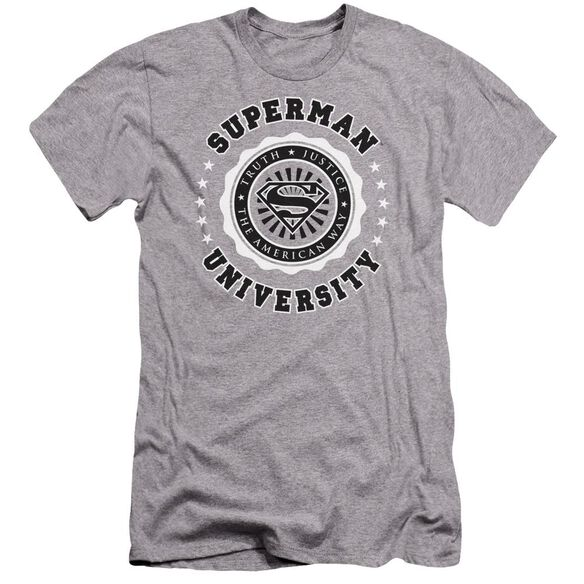 Superman Superman University Premuim Canvas Adult Slim Fit Athletic