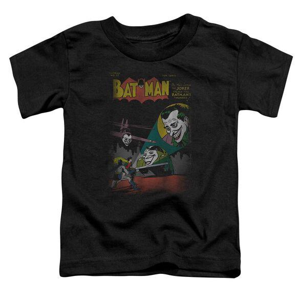 Dc Wrong Signal Short Sleeve Toddler Tee Black Sm T-Shirt