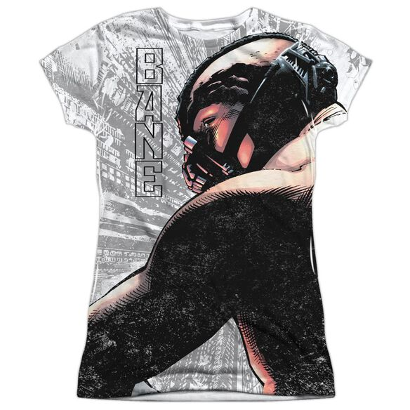 Dark Knight Rises Banes City Short Sleeve Junior Poly Crew T-Shirt