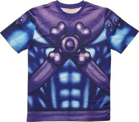 He Man Skeletor Sublimated Costume T-Shirt Sheer