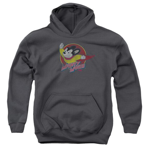 Mighty Mouse Mighty Circle Youth Pull Over Hoodie
