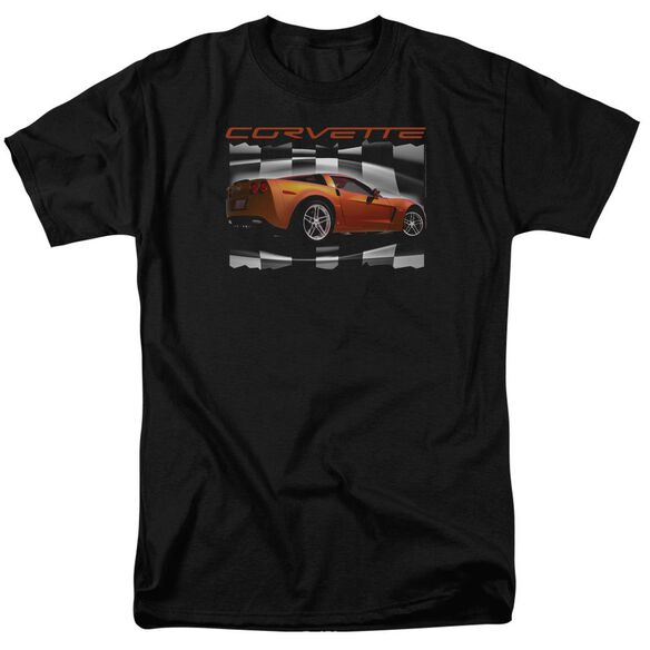 Chevrolet Orange Z06 Vette Short Sleeve Adult T-Shirt