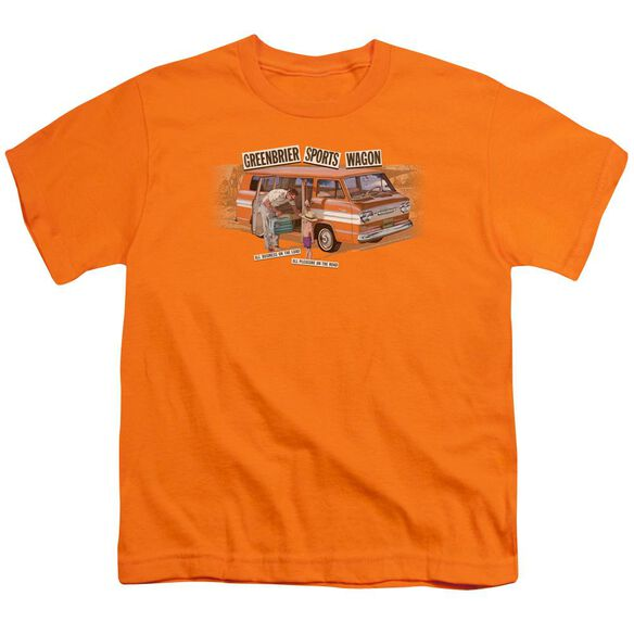 Chevrolet Greenbrier Corvair Sport Wagon Short Sleeve Youth T-Shirt