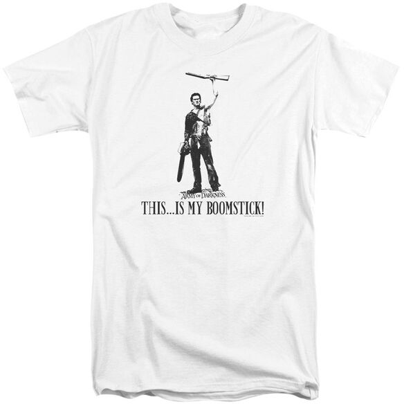Army Of Darkness Boomstick! Short Sleeve Adult Tall T-Shirt