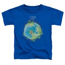 Yes Fragile Cover Short Sleeve Toddler Tee Royal Blue T-Shirt